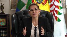 Ordenan arrestar a la expresidenta interina de Bolivia por la crisis de 2019