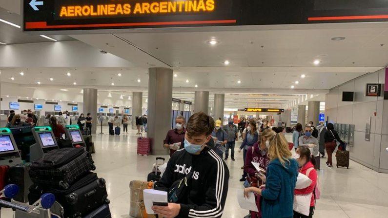 Parte de Miami vuelo con 243 argentinos varados en EE.UU.