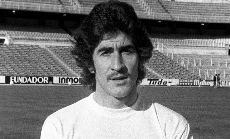 Fotografía de archivo (sin fecha, hacia diciembre de 1974) de Gregorio Benito, histórico central del Real Madrid durante trece años e internacional español, quien falleció a los 73 años. EFE/Archivo