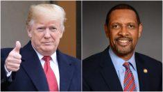 Legislador demócrata de Georgia apoya la reelección de Trump