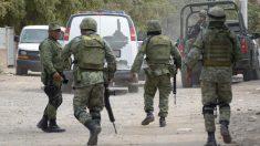 Mueren siete presuntos criminales en choque con el Ejército en México