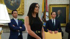 Grisham dejará de ser secretaria de Prensa de la Casa Blanca y trabajará para la primera dama