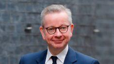 """El """"número dos"""" del Gobierno británico, Michael Gove, en cuarentena"""