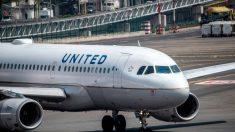 United Airlines pierde 1600 millones entre abril y junio, su peor trimestre