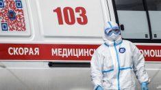 Moscú supera los 100,000 casos y los mil muertos por el virus del PCCh