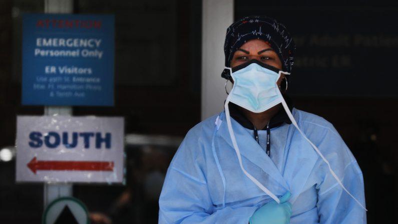 Las altas del hospital son más que las internaciones en Nueva York por cuarto día consecutivo