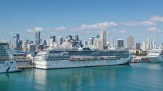 Mueren dos personas a bordo del Coral Princess rumbo al puerto de Miami