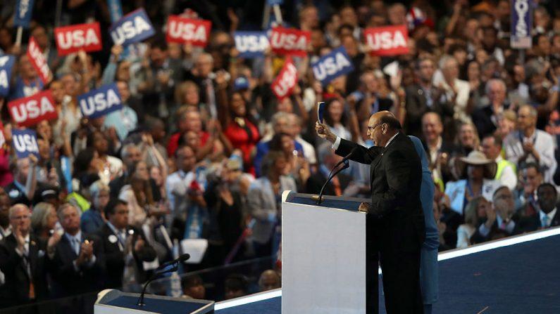 Convención nacional demócrata en el centro de Wells Fargo, 28 de julio de 2016 en Philadelphia, Pennsylvania. Imagen de archivo. (Joe Raedle / Getty Images)