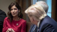 """La gobernadora de Dakota del Sur defiende la decisión """"poco convencional"""" de resistirse al bloqueo"""