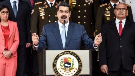 """Nicolás Maduro busca """"negociación secreta"""" con EE. UU. sobre transición en Venezuela dice funcionario"""