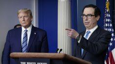 Mnuchin: se depositarán pagos de estímulo en cuentas bancarias de estadounidenses la próxima semana