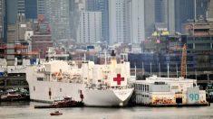 Miembro del USNS Comfort da positivo justo cuando el buque comienza a tomar pacientes con COVID-19