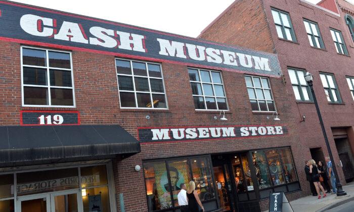 El Museo de Johnny Cash en el centro de Nashville, Tennessee, el 29 de mayo de 2013. (Rick Diamond/Getty Images)
