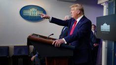 Otro reportero enmascara su afiliación con la propaganda china en una sesión informativa presidencial