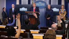 Reportera cuestionada por Trump trabaja para un canal de propaganda china, confirman expertos