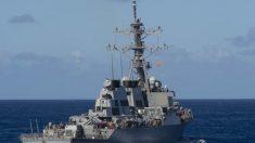 El segundo barco de la Marina infectado por el brote en el mar, regresará a puerto