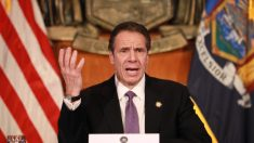"""El sistema de Nueva York se ha """"colapsado"""" por el aumento de las demandas de desempleo, dice Cuomo."""