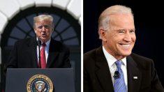 """Campaña de Trump descarta la declaración de Biden sobre las elecciones como """"teoría conspirativa"""""""