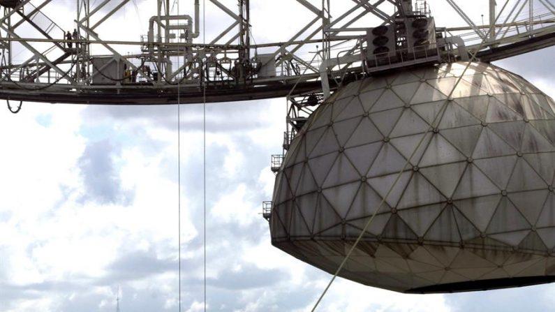 El observatorio de Arecibo, en Puerto Rico. EFE/Thais Llorca/Archivo