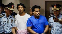 Otorgan arresto domiciliario a Ronaldinho en Paraguay tras pago de fianza millonaria