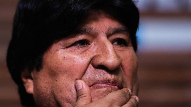 El exmandatario de Bolivia Evo Morales. EFE/Juan Ignacio Roncoroni/Archivo