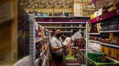 Vídeo muestra cómo una sola tos puede propagar el virus del PCCh en las tiendas de comestibles