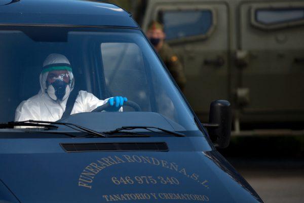 Número de muertos por el Covid-19 en España cae por segundo día consecutivo