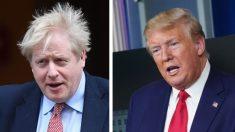 Empresas de EE.UU. debaten tratamiento para Boris Johnson con médicos del Reino Unido, dice Trump
