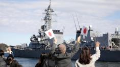 Destructor japonés es dañado por barco pesquero chino tras colisión en el Mar de China Oriental