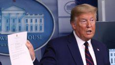 Trump anuncia un tratamiento gratuito contra el virus para los estadounidenses sin seguro médico