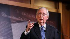 McConnell: senadores republicanos revelarán la próxima semana el plan de rescate por el virus del PCCh