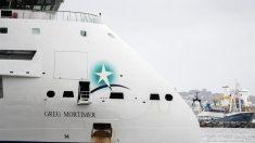 Buque afectado por COVID-19 atraca en Uruguay antes de evacuar la tripulación