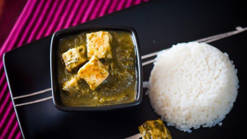 Palak paneer, un plato indio popular.(Radhikamprabhu82/Wikimedia Commons/CC BY-SA 4.0)