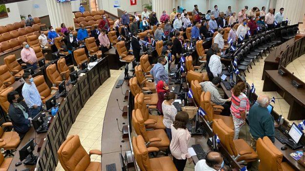 Diputados alertan sobre eventual brote de COVID-19 en el parlamento de Nicaragua