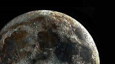 """Astrofotógrafo captura la """"imagen más clara del mundo"""" de los cráteres de la luna"""