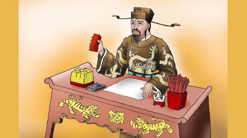 Bao Gong, comúnmente conocido como Justice Bao, fue un legendario funcionario de la dinastía Song que demostró constantemente imparcialidad, honestidad y rectitud en sus decisiones en la corte. (Sun Mingguo / La Gran Época)