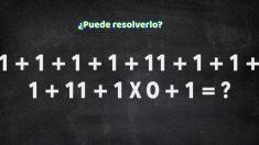 Muestre su genio resolviendo este ejercicio matemático que a muchos deja perplejos