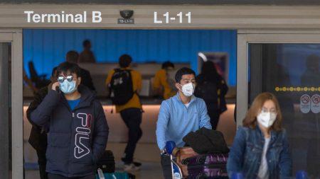 Vuelos desde China cayeron un 86 % después de la prohibición de viajes de Trump, dicen los CDC