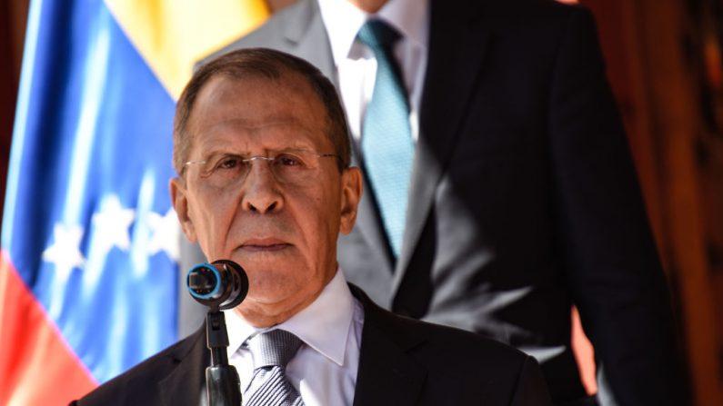 Ministro de Exteriores ruso admite injerencia en inteligencia venezolana