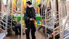 El principal sindicato policial de Nueva York pide el fin de la aplicación de distanciamiento social