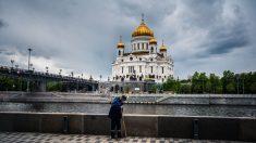Rusia supera los 350,000 casos de COVID-19