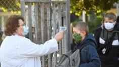 Francia cierra 70 escuelas en una semana por casos del virus del PCCh