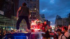 Acusan a una mujer de intentar asesinar a policías durante protestas en Nueva York