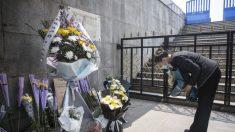 Policía china amenaza a hijo de víctima del virus por sus esfuerzos en construirle un monumento