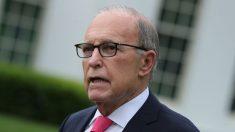 """Kudlow dice que diálogos formales del próximo proyecto de ley de ayuda están en un """"tipo de pausa"""""""