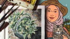 Una diseñadora gráfica de 27 años abandona la ciudad para regresar a la granja y está encantada