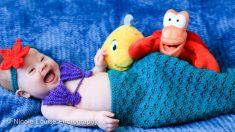 Fotógrafa hace que niños con síndrome de Down se disfracen de personajes de Disney para crear conciencia