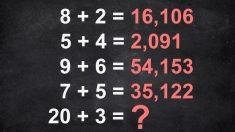 Test matemático IQ: ¿puedes resolver este acertijo? si lo logras, ¡eres un genio!