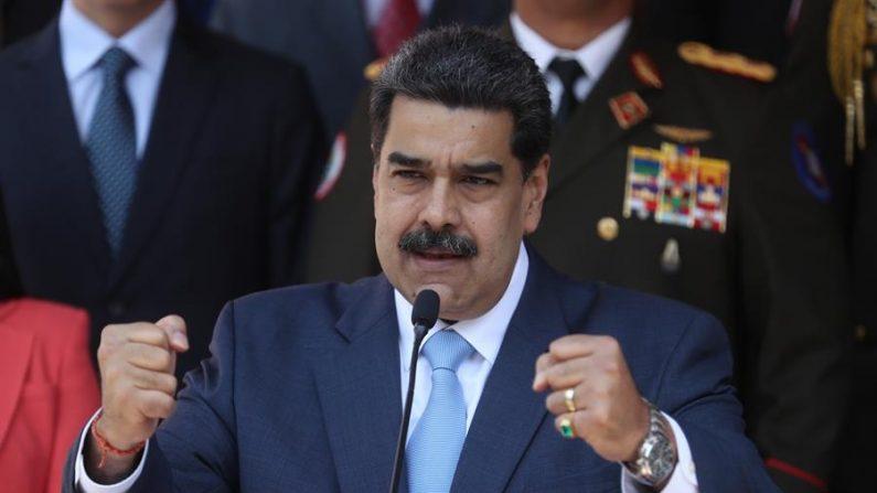 En la imagen el líder socialista de Venezuela, Nicolás Maduro. Cabo Verde mantiene su posición favorable a la extradición del empresario colombiano Álex Saab, presunto testaferro del líder de Venezuela, Nicolás Maduro, a Estados Unidos. EFE/ Miguel Gutiérrez/Archivo