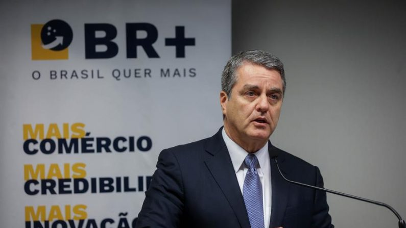 El director general de la Organización Mundial del Comercio (OMC), Roberto Azevedo. EFE/FERNANDO BIZERRA JR/Archivo